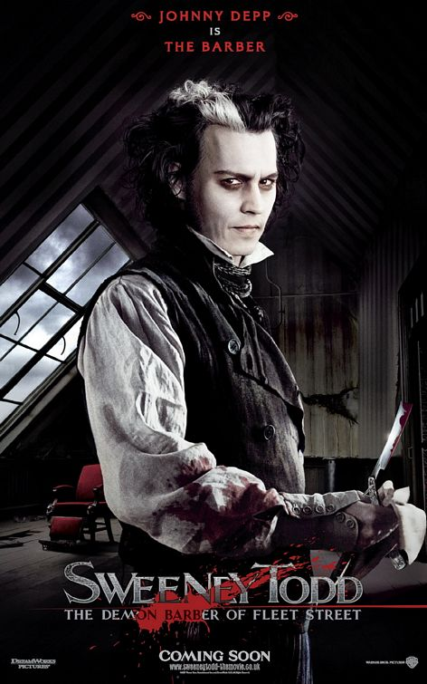Sweeney Todd The Demon Barber Of Fleet Street Is A 2007 Horror Musical Film Directed By Tim Burton It An Adaptation Stephen Sondheim And Hugh